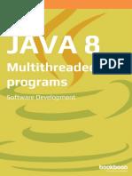 Java 8 Multithreaded Programs