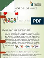 Derechos de Los Niños y Niñas