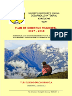 Plan de Gobierno Oronccoy