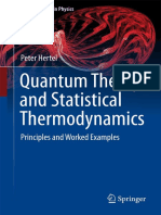 (Graduate Texts in Physics) Peter Hertel-Quantum Theory and Statistical Thermodynamics_ Principles and Worked Examples-Hertel, Peter, Springer Verlag (2017)