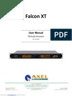Axel Falcon XT User Manual