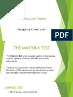 Manteux Test