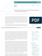 Tatakelola Co Audit Internal Audit Teknologi Informasi Perwu