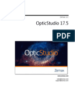 OpticStudio UserManual En
