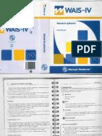 Manual Aplicación WAIS IV