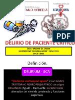 Delirio de Paciente Critico Completo