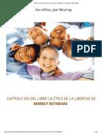 Los Derechos de Los Niños, Por Murray Rothbard - Enemigos Del Estado
