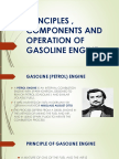 PRINCIPLES , COMPONENTS AND OPERATION OF GASOLINE ENGINE.pptx