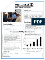 CommunicAID Fact Sheet