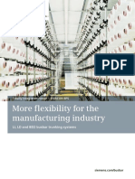 More Flexibility for the Manufacturing Industry En