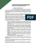 Acta Transcrita Del Libro de Actas Del Sindicato de Trabajadores en Construcción Civil Puerto Sungaro Fichado Con Registro n