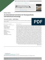 Artigo de Estudos Em Neuropsiquiatria