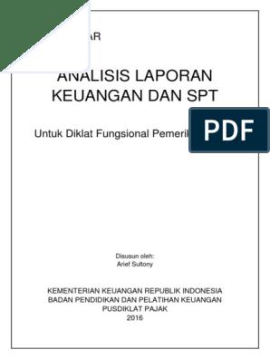 4 Analisis Laporan Keuangan Dan Spt S