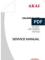Akai Service Manual 14ct02,21cts25fs Ete-2