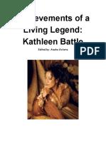 achievements of a living legend  kathleen battle
