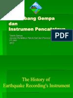 Gelombang Gempa Dan Instrumentasinya