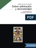 Sobre adivinacion y sincronicidad - Marie-Louise von Franz.pdf