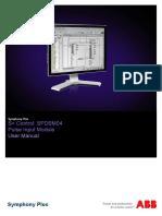 2VAA001654 - En S Control SPDSM04 Pulse Input Module