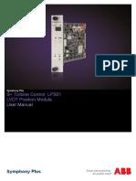 2VAA002489 - En S Turbine Control LPS01 LVDT Position Module