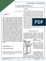 1ra Serie de Estudios_ 02 La Desobediencia
