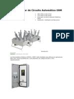RESUMEN Reconectador de Circuito Automático OSM