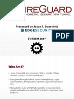 Fosdem2017 Slides
