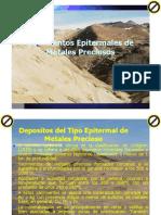 Yacimientos Epitermales Metales Preciosos - Ppt