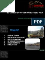 El Carbon Recurso Estrategico Del Peru - Minas San Roque