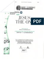 Jesus, The One