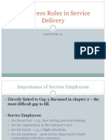 Ch12_Employees Roles in Service Delivery