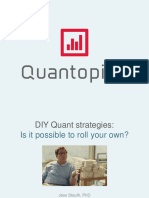 5 Basic Quant Strategies