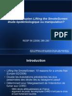 2008 - Présentation - Critique de lifting the smokescreen