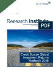 ★★★★.Credit Suisse Global Investmnet Returns Yearbook 2016