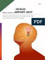 Unitus Seed Fund EdTech Report 2017