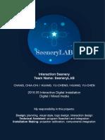 digitalartproject interactionseenery