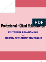 Professional Client Relationships
