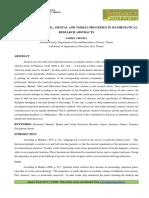 15.Format. Hum-relational, Material, Mental and Verbal Processes