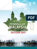 Peninsular Malaysia Electricity Supply Outlook 2017
