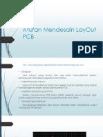 Aturan Mendesain Lay Out PCB