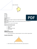 Types of Angles-worksheet