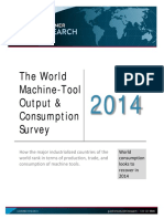 The World Machine Tool Output Output & Consumption Survey. 2014