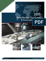 2015 the World Machine Tool Output Output & Consumption Survey