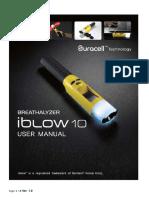 User Manual IBlow10 Final Ver