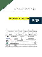 Procedure of Start-up Boiler