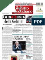 Il Fatto Quotidiano Del 3 Settembre 2010