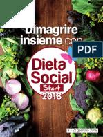 Dimagrire Insieme Con Dieta Social Start 2018