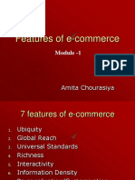 Features of E-commerce Amity Jaipur BBA