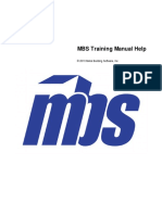 MBS Training Manual