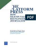 The Platform Press Tow Report 2017