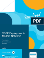 OSPF Deployment in Modern Networks_Review